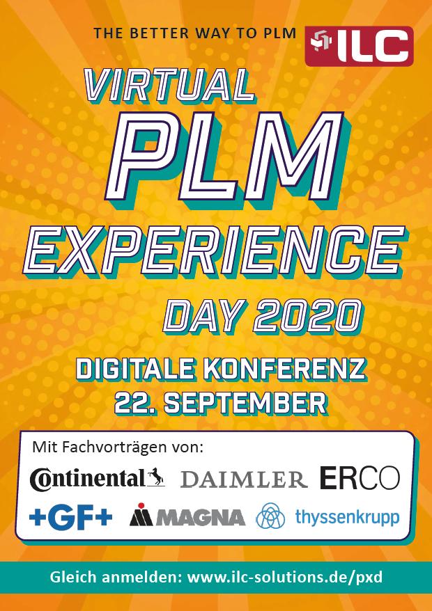 Einladung Virtual PLM eXperience Day 2020