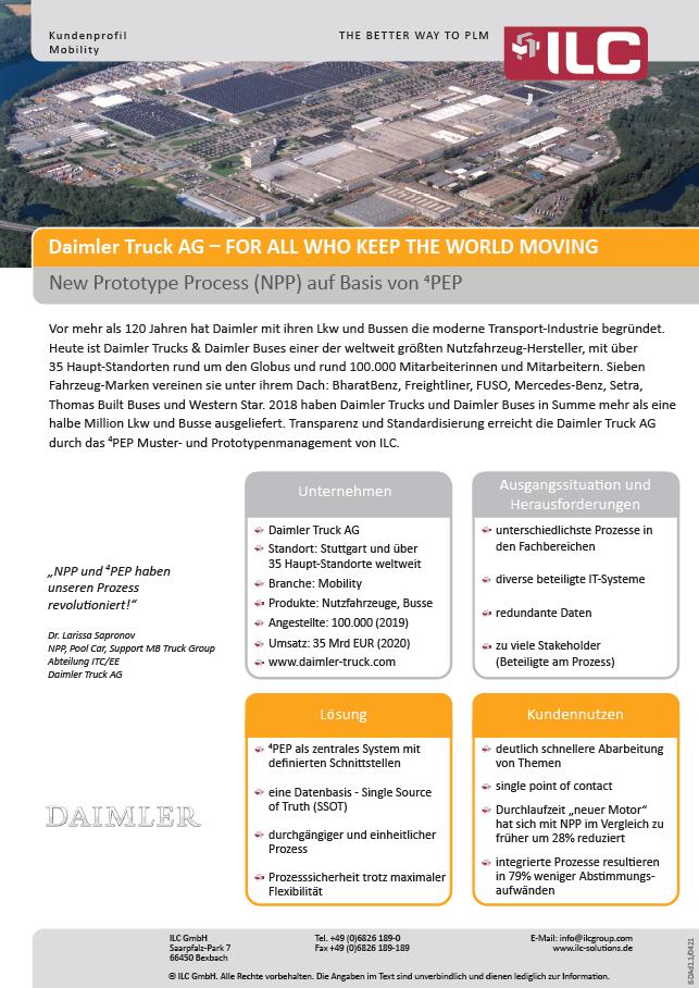 Success Story Daimler Trucks – ILC GmbH