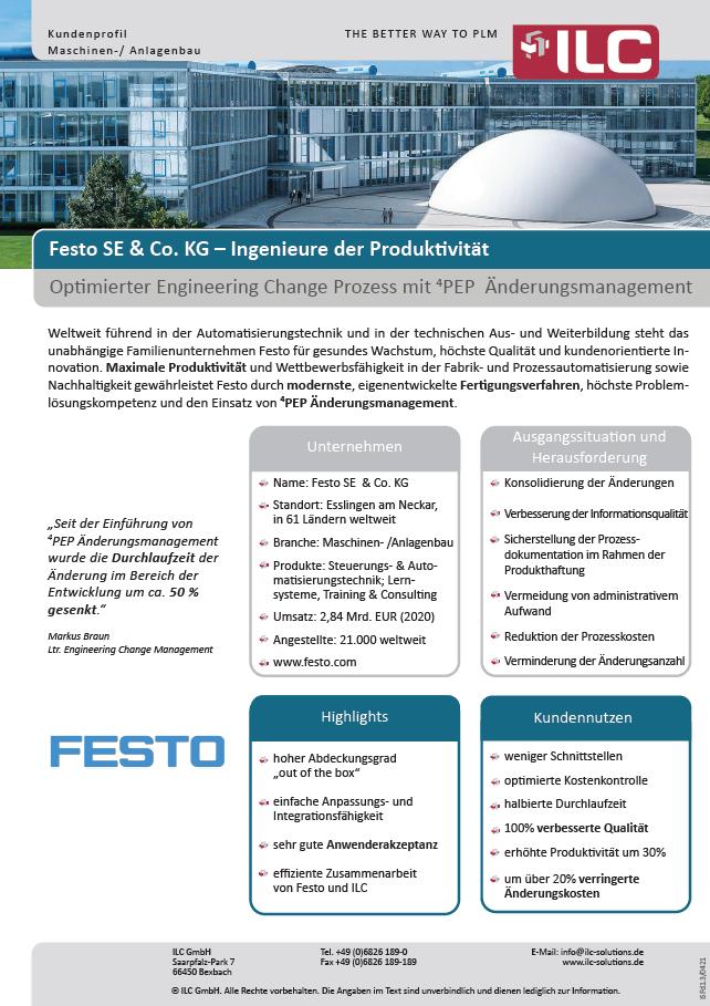 Success Story Festo SE & Co. KG – ILC GmbH