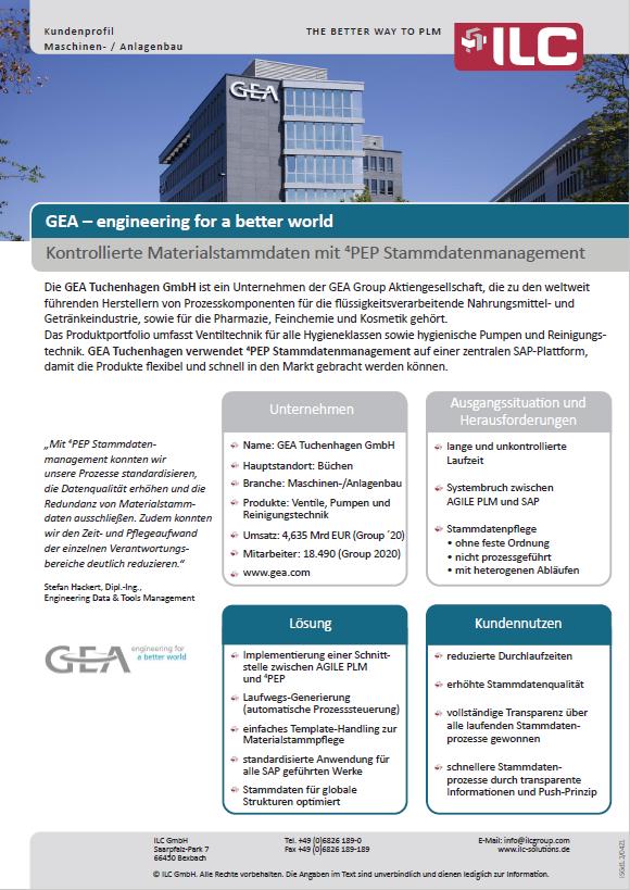 Success Story GEA – ILC GmbH