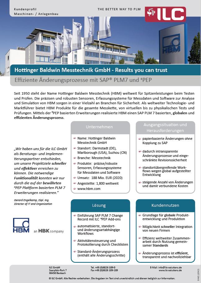 Success Story HBM – ILC GmbH
