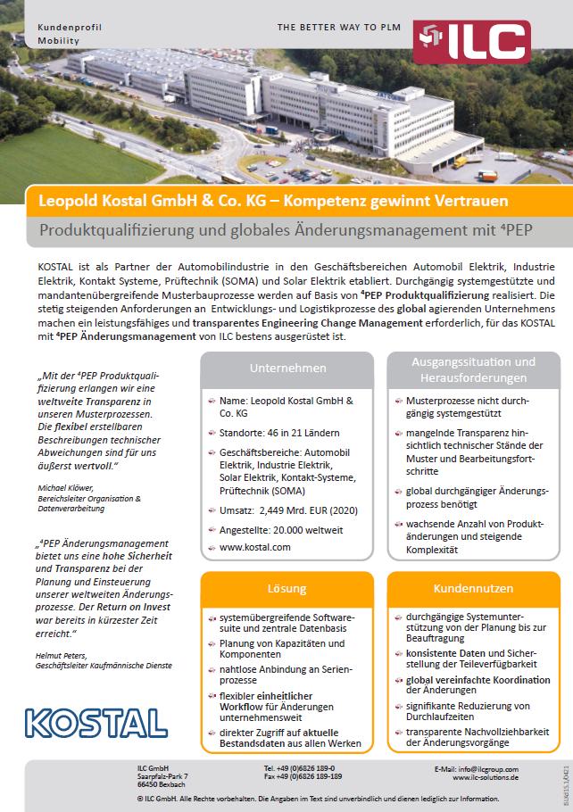 Success Story Kostal – ILC GmbH
