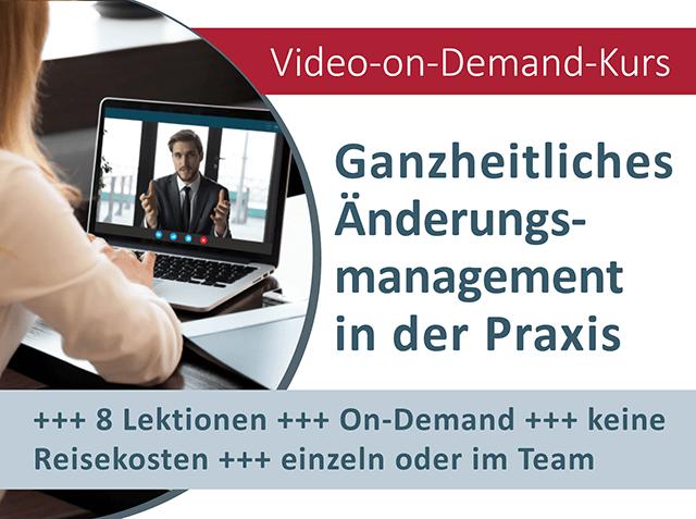 On-Demand Video-Kurs Änderungsmanagement