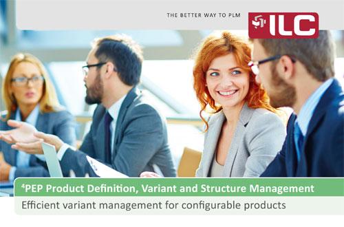 Produktstruktur- und Variantenmanagement Fact Sheet – ILC GmbH